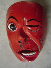Mask made by Mones
